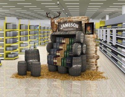 Jameson point of sale display