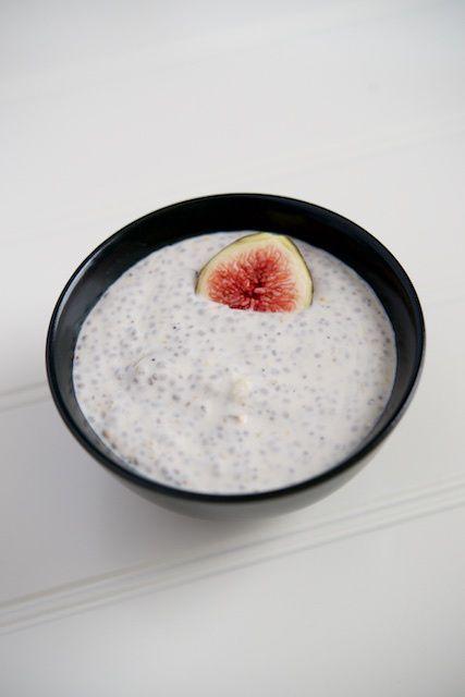 Fig Coconut Yogurt Recipe [paleo, primal, gluten-free]