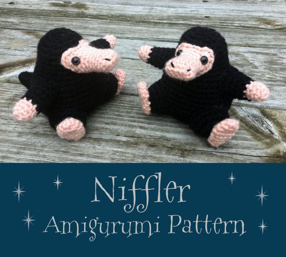 Crochet Pattern: Niffler Amigurumi PDF Instant Download