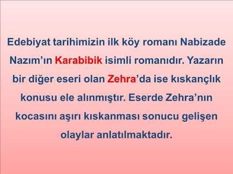 LYS Edebiyat Türk Edebiyatında Kişiler I - YouTube