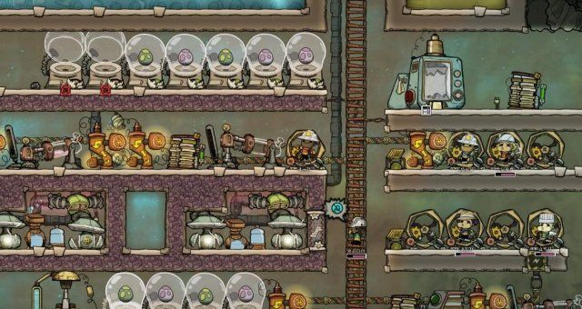 Oxygen Not Included Critter Space Requirements Tiles Game Critter Oxygen
