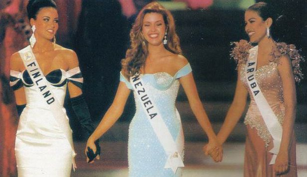 Alicia Machado - Venezuela - Miss Universe 1996