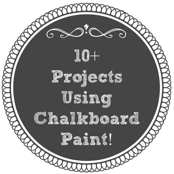 best 25 chalkboard paint projects ideas on pinterest With what kind of paint to use on kitchen cabinets for cowboys car sticker