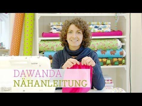 """DaWanda Nähschule: """"Wie mache ich eine Raffung?"""" - YouTube"""