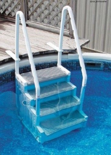 above ground swimming pool ladder steps heavy duty for flat bottom 4
