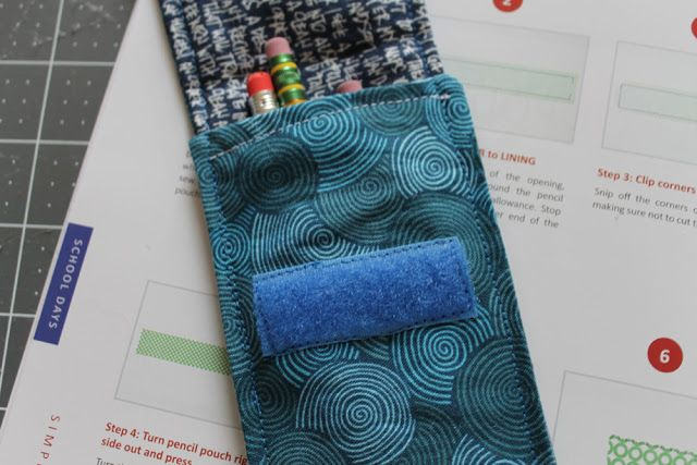 sewing with kids: simple sewing pencil case | imagine gnats