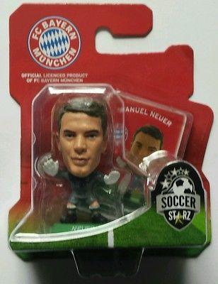 "NIB FC BAYERN MUNCHEN Soccer Starz MANUEL NEUR 2"" figure SIMBA TOYS Germany"