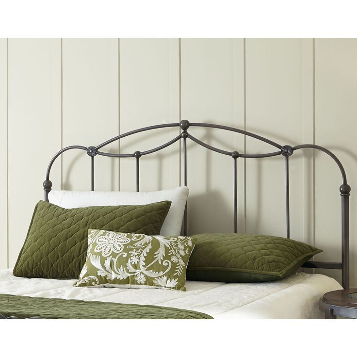 fashion bed group affinity metal headboard panel with straight spindles and detailed castings california king brown taupe