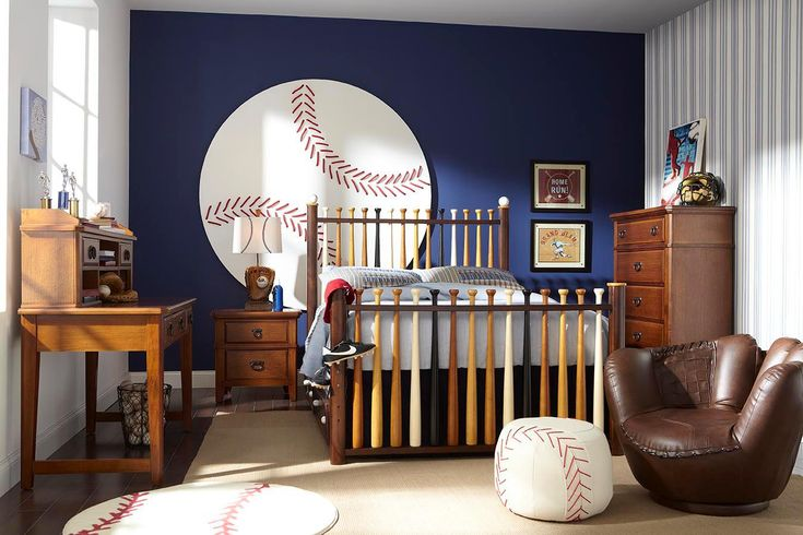 A baseball themed boys room baseball pinterest - Comely pictures of basketball themed bedroom decoration ideas ...