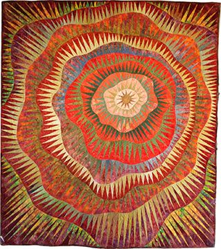 Ojo Caliente Quilt by Betty Busby