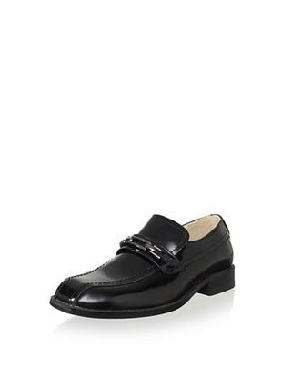 65% OFF Venettini Kid's Palau Loafer (Black)
