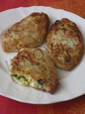 Блюда для диабетиков: котлеты из цветной капусты с начинкой (зразы)