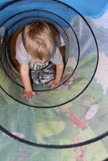 we have this tunnel, would be great to work into an obstacle course at home
