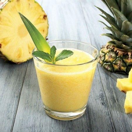 Succo d'ananas e kiwi