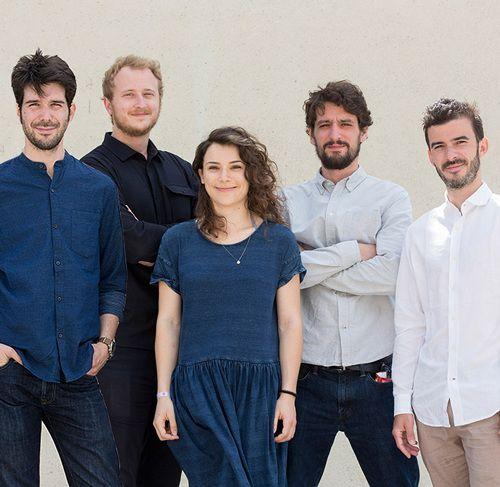 Belle Ville Atelier d'Architecture - Ilan Bitoun, Vincent Imfeld, Alexandre Ferron, Anthony Le Page et Lucile Nicosia