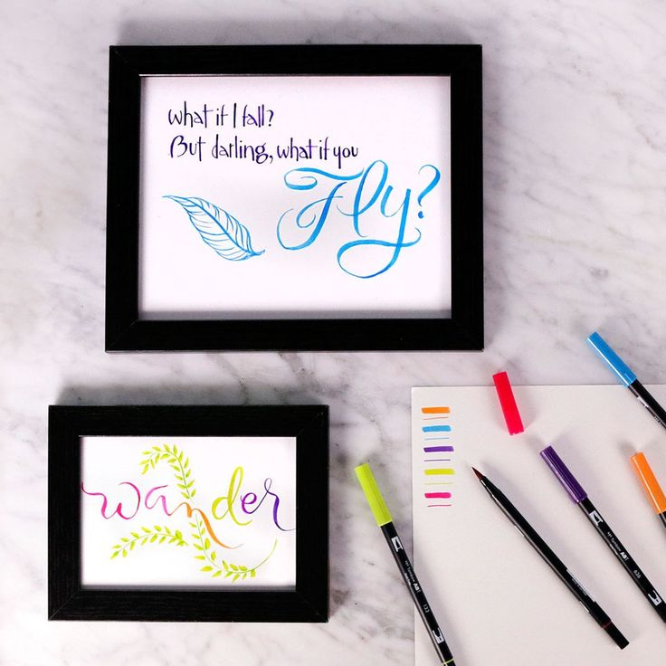 DIY Gallery Wall Lettering makes personalizing your home decor easy.