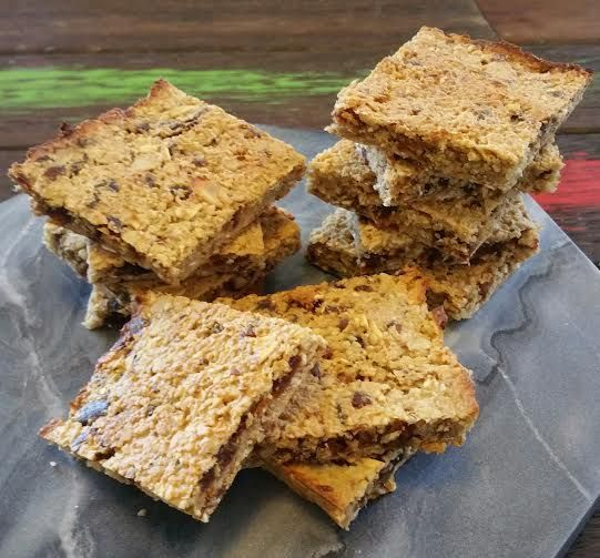 Thermomix 4 ingredient date slice