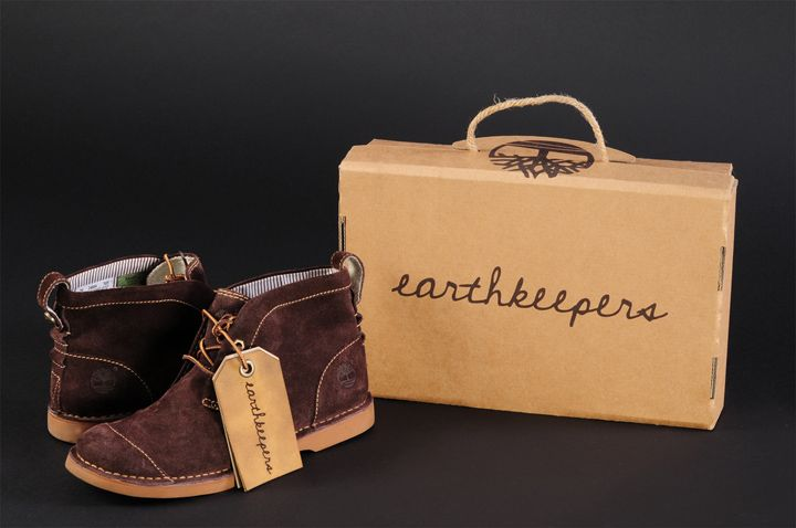 Sustainable shoebox design and graphics for Timberland® Earthkeepers™ by Katelyn Peissig.
