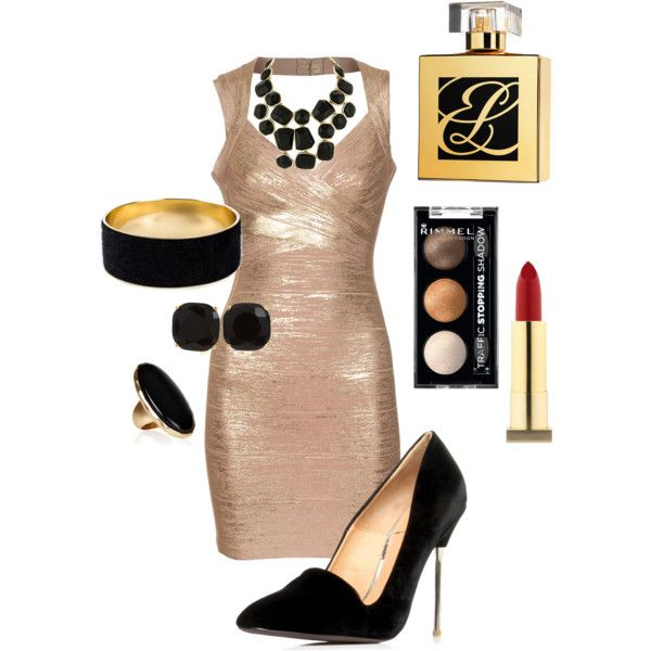"""A James Bond Girl outfit"" by christana-delaune-morelock on Polyvore"