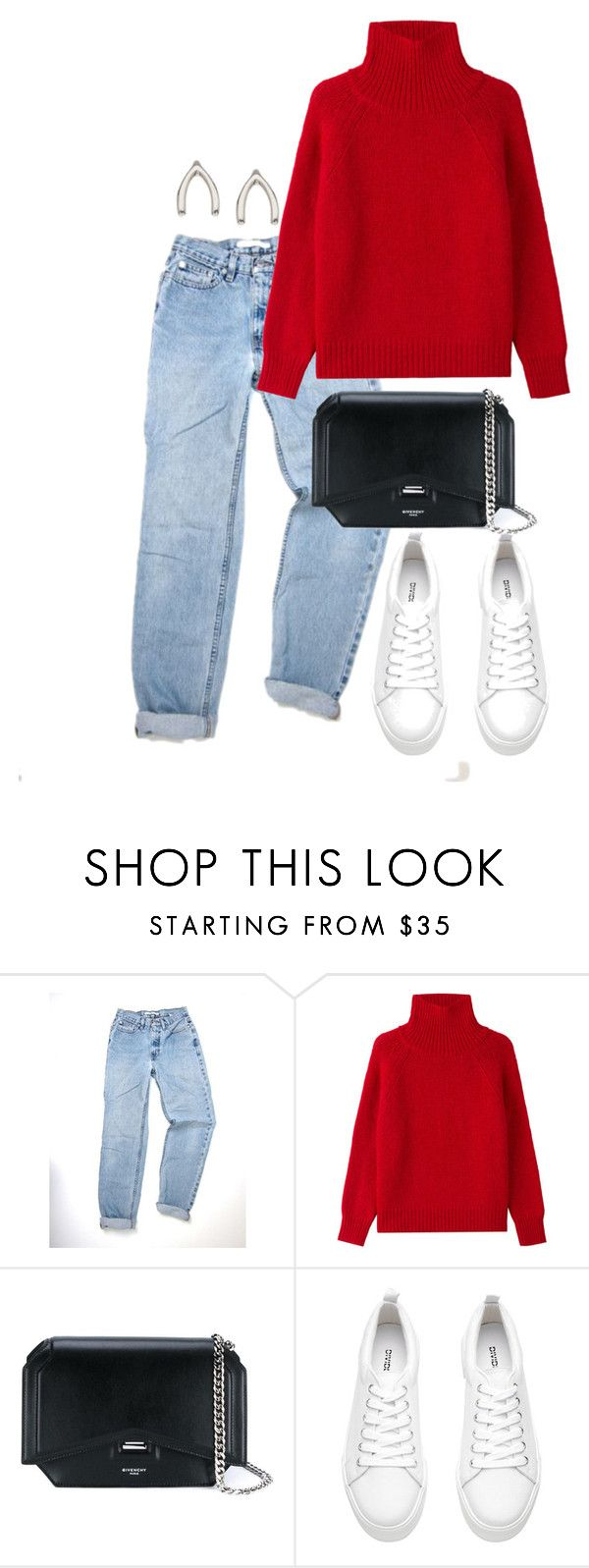 """""""Untitled #3197"""" by theeuropeancloset on Polyvore featuring Vanessa Bruno, Givenchy, H&M and Orelia"""