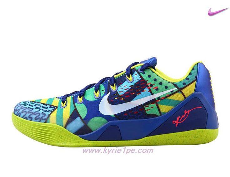 vendita scarpe basket 646701-413 Blu / Giallo