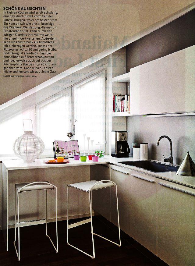 16 best images about Küche on Pinterest Window seats, Ikea hacks - küche in dachschräge