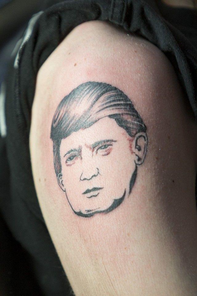 Ultimate Donald Trump Tattoo on Arm