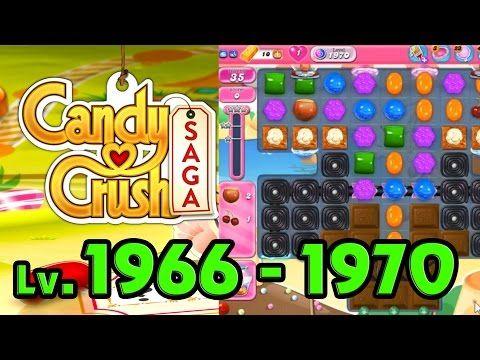 Candy Crush Saga - Level 1966 - 1970 (1080p/60fps)