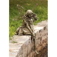 I love fairies in my garden.