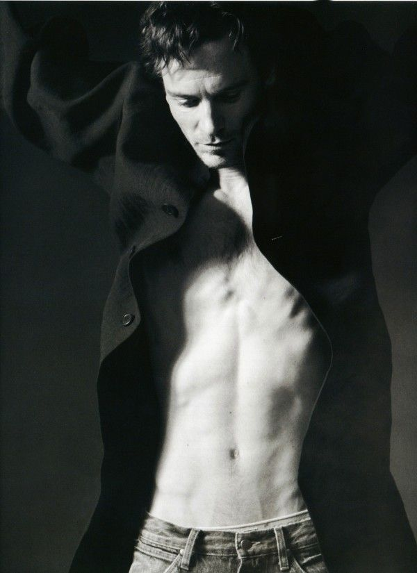Michael Fassbender by Paul Maffi.....bow chicka wow wow!