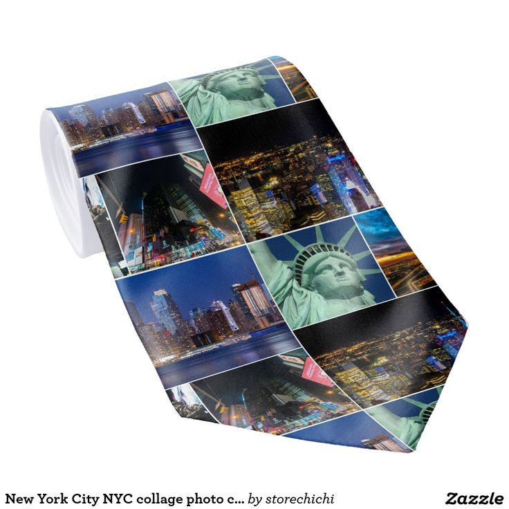New York City NYC collage photo cityscape