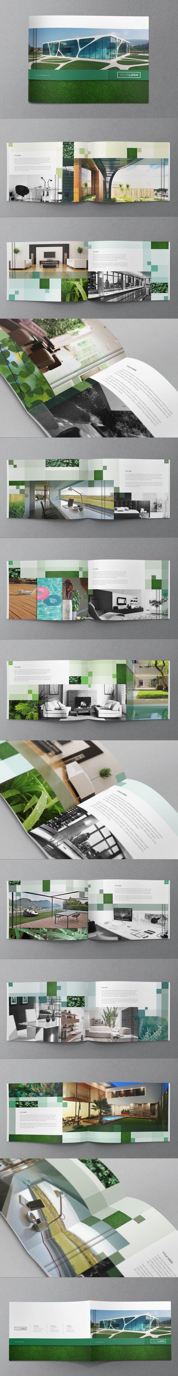 Eco Friendly Brochure Design by Abra Design, via Behance
