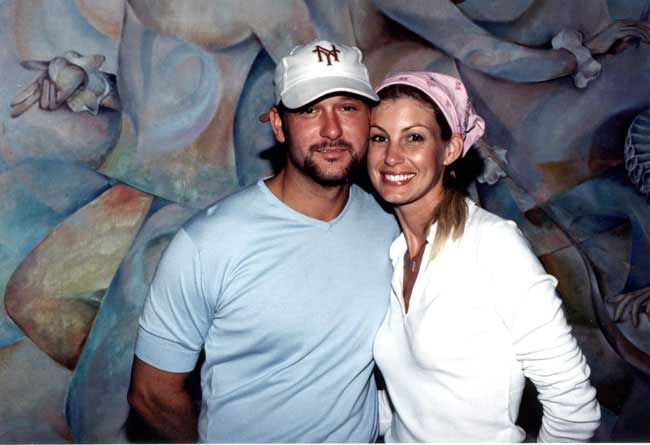 Tim McGraw & Faith Hill | Photocave Private Collection by Carol Newsom