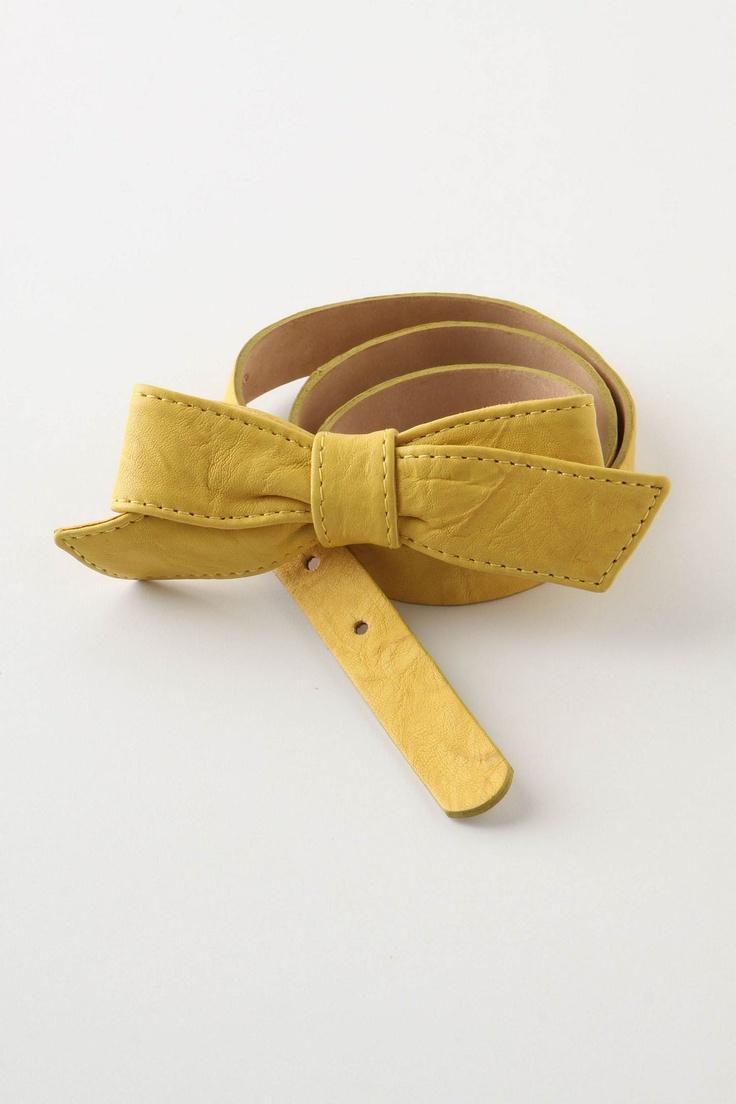 Belle Bow Belt from Anthropologie | 38 bucks - http://www.anthropologie.com/anthro/product/24217408.jsp