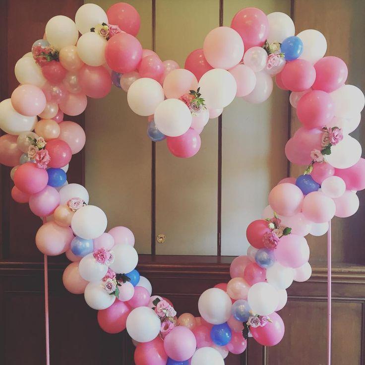 balloon heart for a lucky little lady