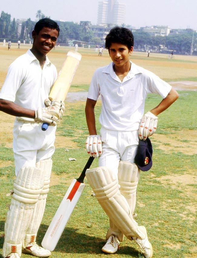 Sachin Tendulkar and Vinod Kambli | Veethi