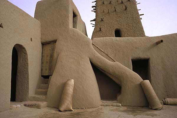 // Old Mosque. Timbuktu, Mali  by Don Gurewitz