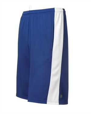 ATC™ A-GAME™ COLOUR BLOCK SHORTS. #S3511 - 6-oz, 100% polyester double-mesh knit. Contrast at side panels. Seam front pockets. For details on how to order this item with your logo branded on it contact ww.fivetwentyfour.ca