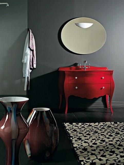 decoracao banheiro retro : decoracao banheiro retro:Decoração Retrô: Banheiro