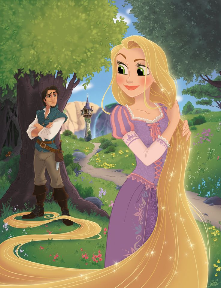 Rapunzel by David Gilson.