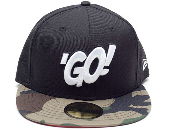 Black Camo 59Fifty Fitted Cap by ST ALFRED x NEW ERA 86893a7cc2ab