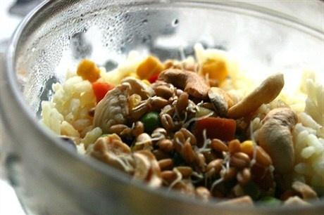 Вегетарианский рис с тофу рецепт с фото
