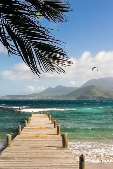 St. Kitts | One look at this island and its no wonder European powers grappled for years to gain control of it. Take off to its eastern shore and you face the Atlantic, venture onto its west side and it's the Caribbean Sea.