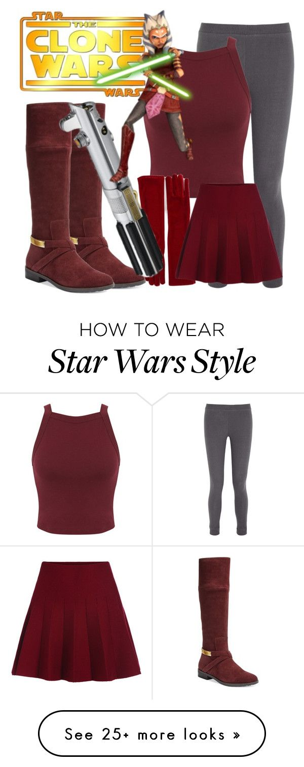 """Star Wars outfit #1 Ahsoka Tono's (Snips) Outfit"" by razburry on Polyvore featuring Alfani, Eberjey and Miss Selfridge"