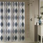 Swivel Polyester Shower Curtain