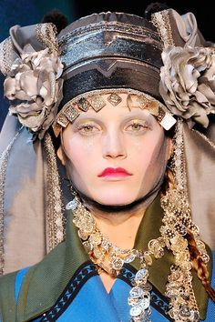 "BEYOND DRESS CODES""   CONTEMPORARY FASHION DESIGNERS IN DIALOGUE WITH TRADITIONAL GREEK COSTUME                        [JOHN GALLIANO (AW 2009)]"