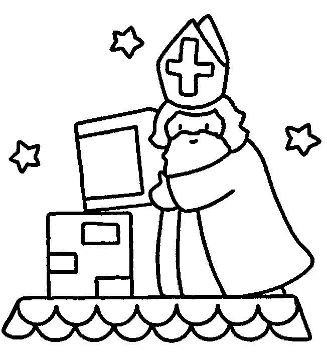 Les 25 meilleures id es de la cat gorie dessin de saint - Saint nicolas dessin couleur ...