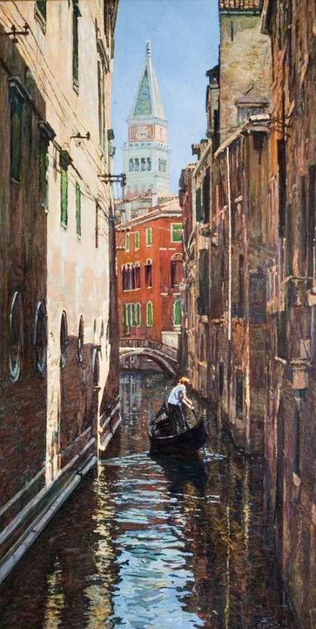 Утро в Венеции, 1976г. - Белых Алексей Павлович