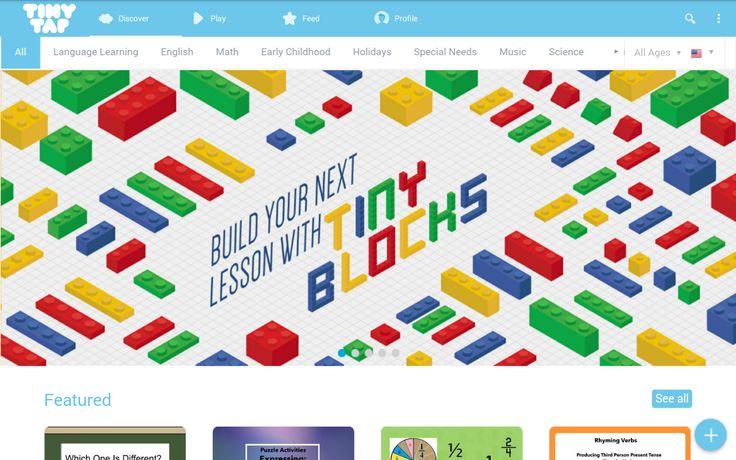Tässä kirjoituksessa kerron mikä on TinyTap, mitä sillä voi saada aikaiseksi ja omat kokemukseni siitä.  Mikä on TinyTap? TinyTapin takana on israelilainen start up-yritys, joka toimii vuodesta 2012. Se on sosiaalinen alusta, jonka avulla opettajat ja oppilaat voivat tehdäomia interaktiivisia pelejä, kirjoja tai harjoituksia. Alusta tarjoaa valmiita interaktiivisia elementtejä, joita yhdistelemällä saa tehtyä esim. harjoituksia oppilaille. Harjoituksen voi laittaa kaikkien nähtäville…