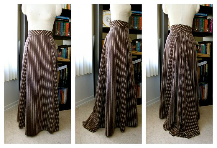Pinning this for the skirt pattern link. I was wondering how vertical stripes and the A-line shape would look. But I think it is ok, especially since I will be pulling it up.